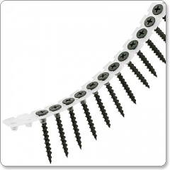 collated Drywall 4.5 x 75 mm Black Phosphate Coarse Thread Strip Screws 1000 per pack