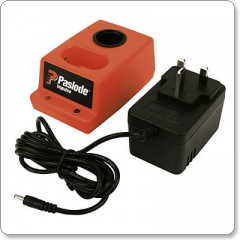 Paslode Battery Charger with AC/DC Adaptor