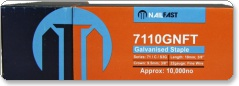 Nailfast 7110NK 71/10mm Galv Upholstery Staples 10 000 per box