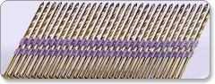 Nailfast 3.1x90mm Screw Galv Plastic Collated Strip Nail 20° 3000no CE — Service Class 2
